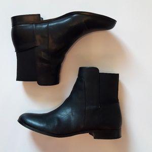Calvin Klein black Rivita pull- on booties